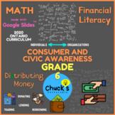 Math - Financial Literacy - Distribution of Financial Reso