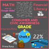 Math - Financial Literacy - Interest Rates - Loans/Credit