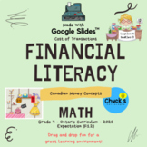 Math - Financial Literacy - Money Concepts - Cost of Trans