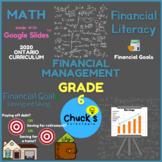 Math - Financial Literacy - Reaching Financial Goals on Google Slides™