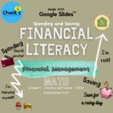 Math - Financial Literacy - Spending and Saving on Google