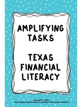 Math Financial Literacy Texas Teks