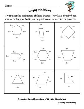 Math: Finding the Perimeter of a Shape