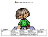 Math First Week of School Lesson Plan:  4th Grade Go Math;