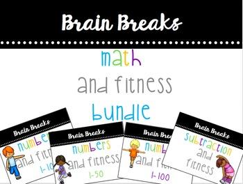 Math & Fitness Brain Break Bundle