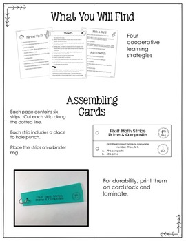 Math Fix-it Strips for Comparing and Ordering Decimals (4th)