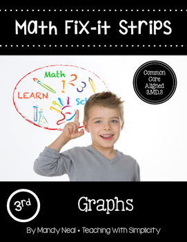 Math Fix-it Strips for Graphs