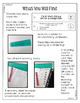 Math Fix-it Strips for Multiplication Equations as Comparisons (4th)