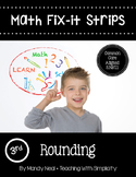 Math Fix-it Strips for Rounding