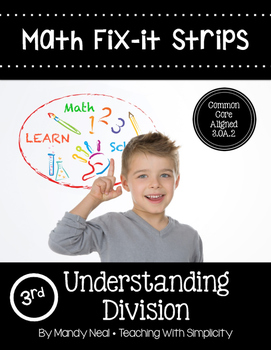 Math Fix-it Strips for Understanding Division