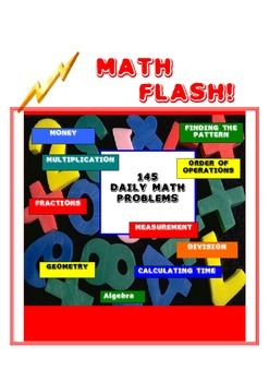 Math Flash!  Daily Math Problems for the Whole Year