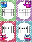 Tens Frame Flash Cards