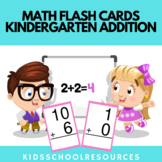 Math Flash Cards Addition - Math Kindergarten Addition Worksheets