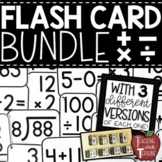 Math Flash Cards BUNDLE {Addition, Subtraction, Multiplication, & Division}