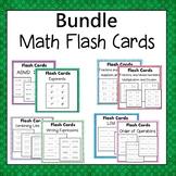Math Flash Cards Bundle