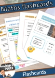 Math Flash Cards Pack | Fractions and Algebraic Expressions