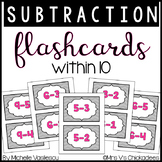 Math Flashcards: Subtraction within 10