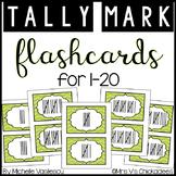 Math Flashcards: Tally Marks 1-20