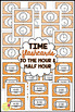 Math Flashcards: Time to the Hour & Half Hour