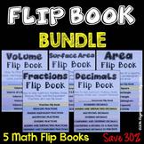 Math Flipbook Bundle - Math Resources for Teachers, Students and Parents