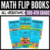 3rd Grade Math Flip Book Bundle