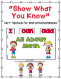 Math Flip Book - I Can Add