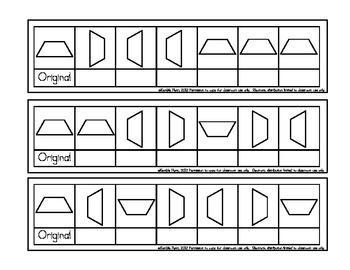 math flip book for slides turns and flips by kembleflynn tpt. Black Bedroom Furniture Sets. Home Design Ideas