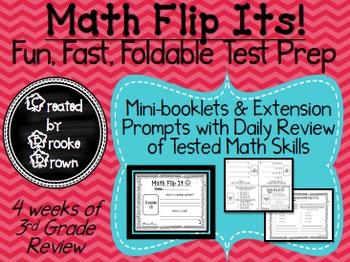Math Flip Its! {Fun, Fast, Foldable Test Prep}