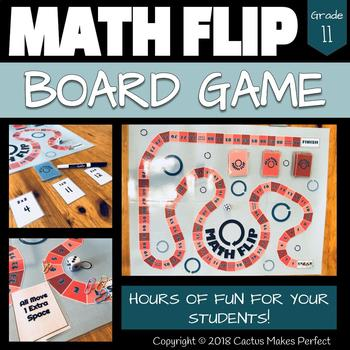 Math Flip - Math Facts Practice Board Game