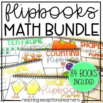 Math Flipbooks Bundle