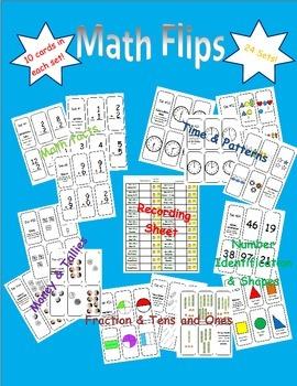Math Flashcards Flips