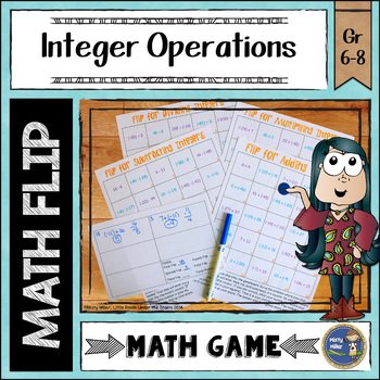 Integers Math Flips Game