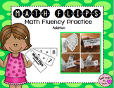 Math Flips Addition (Math Fluency Practice)