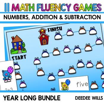 Math Fluency: BUNDLE editable