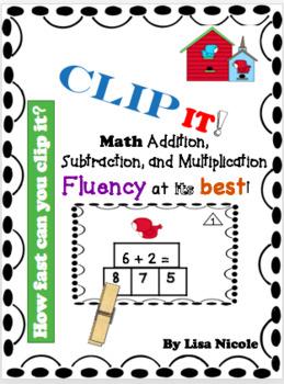 Math Fluency Bundle