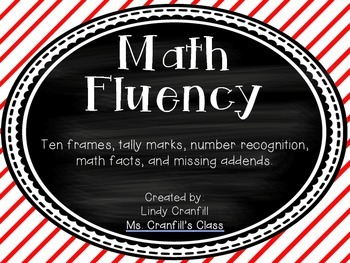 Math Fluency Cards