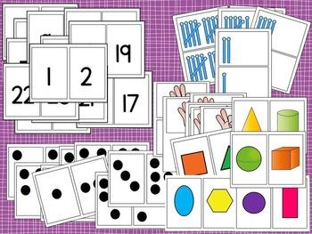 Guiding Kinders: Math Fluency Cards