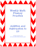 Math Fluency Drills