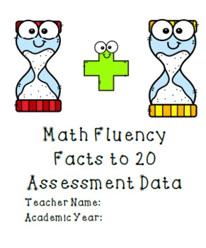 Math Fluency (Facts to 20) Assessment BUNDLE