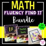 Math Fluency Find It BUNDLE (K-2)