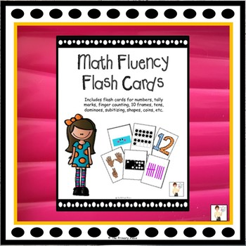 Math Fluency Flash Cards