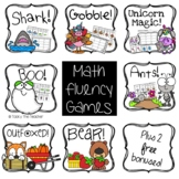 Math Fluency Game Bundle #1 - Addition Facts to 20 and Sub