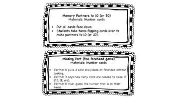 Math Fluency Games