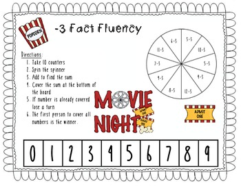 Math Fluency Games Common Core Aligned