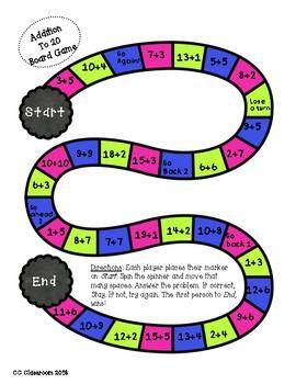Math Fluency Games Week One