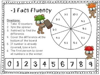 Math Fluency Games-Whack a Mole Style