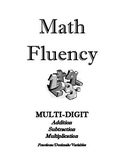 Multiply, Divide, Add, Subtract, Decimals, Fractions - Mat