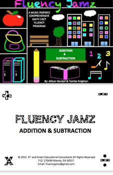 Fluency Jamz: Addition/ Subtraction Math Facts Practice With Music!