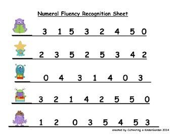 Math Fluency Practice