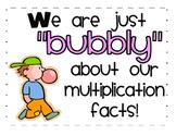 Multiplication Fluency Practice